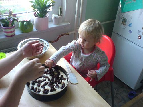 der erste eigene Kuchen